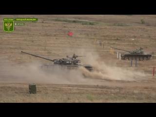 Завершение 2-го этапа состязаний танковых экипажей НМ ЛНР.