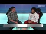 Mo Salah with Carra
