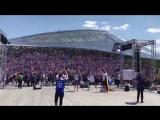 Фанаты Исландии отжигают в Москве