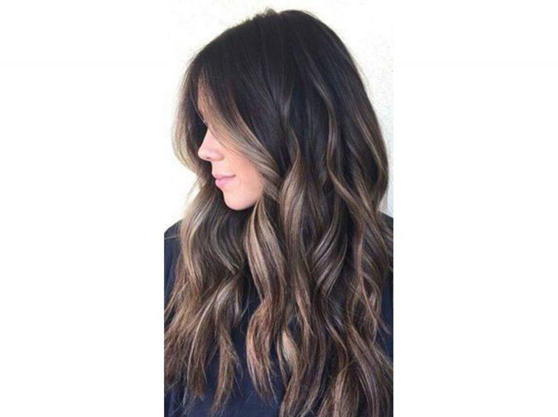 Грибной коричневый цвет волос для брюнеток 2019