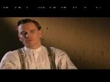 Michael alking about his Inglourious Basterds' co-star Brad Pitt