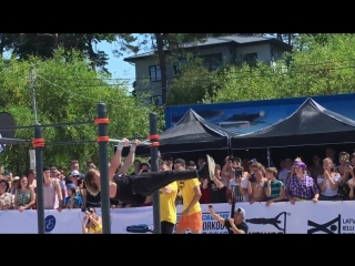 Daniels Laizāns World cup stage in Jurmala qualification round