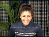 Raveena Tandon, Indian film actress being fit brings self-confidence, I eat Munacca and badaam