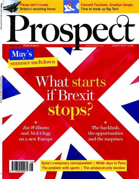 Prospect Magazine – August 2018