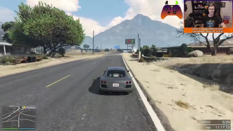 [Broughy's Random Bits Let's Plays] Slipstreamfred (GTA Online) [Gfred]