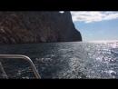 Lizoushka sings , boat trip in Crimea