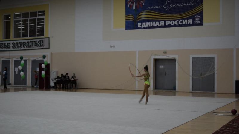 Л.Шарагина. Обруч. 2 м по пр. МС