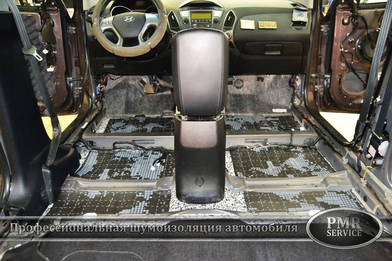 Комплексная шумоизоляция Hyundai ix 35, изображение №4
