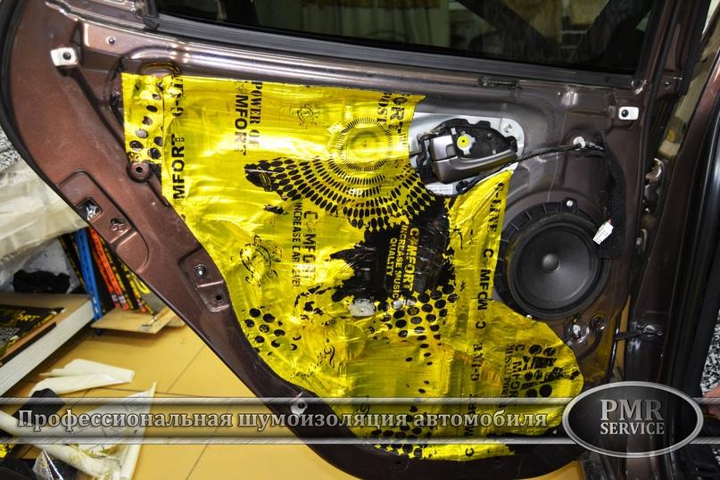 Комплексная шумоизоляция Hyundai ix 35, изображение №14