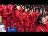 pom-pom girls nord-coréennes (PyeongChang 2018)