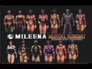 Mortal Kombat ALL MILEENA MK Costume Skin PC Mod MK9 Komplete Edition MKKE HD