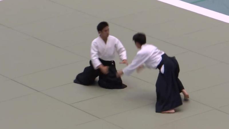 Waka Sensei, Mitsuteru Ueshiba - 51st aikido embukai 2013