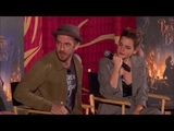 Beauty and the Beast cast live Q&ampA on Facebook
