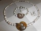Коллекция украшений № 7. Жемчуг. Jewellery made of natural stones. Necklaces, bracelets.