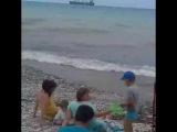 чёрное море после шторма