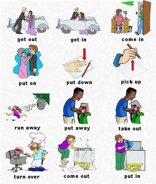 Английские глаголы. 7 значений «Go out»
