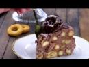 Торт из пончиков с шоколадом | Больше рецептов в группе Кулинарные Рецепты
