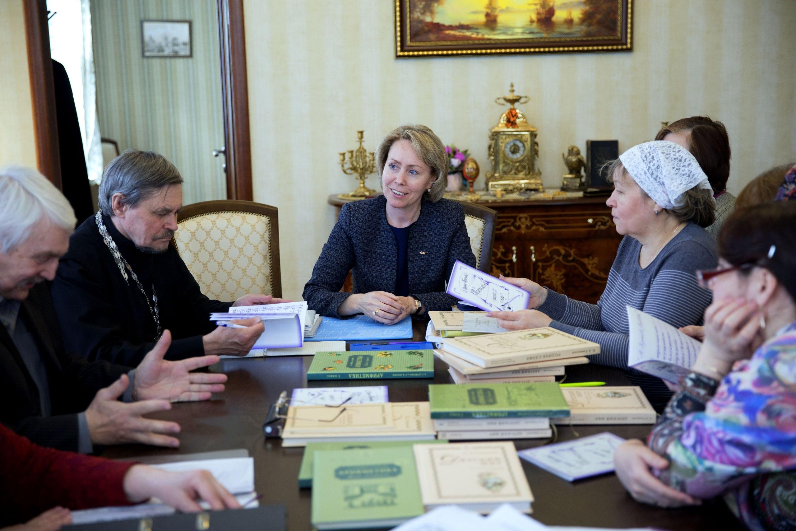 В гимназии стартовала программа образовательных семинаров по системе «Русская классическая школа»