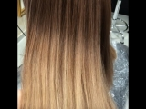 Окрашивание волос #матрикс
