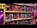 Моя коллекция кукол Монстер Хай. 169 куклы, 9 кошек Monster high