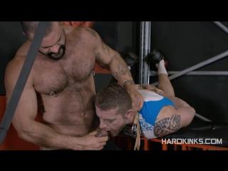 Bondage beast (isaac eliad, rogan richards) #gay #porn #hard #bds ]