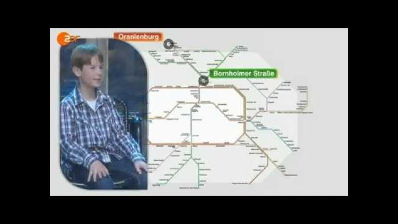 Wetten Dass Kinderwette S Bahn Julian Zude Düsseldorf 06 10 2012