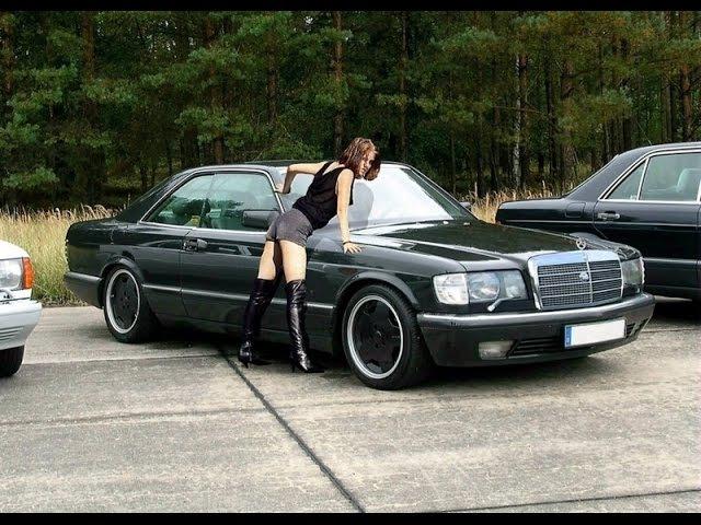 Мерседес W126 автомобиль легенда