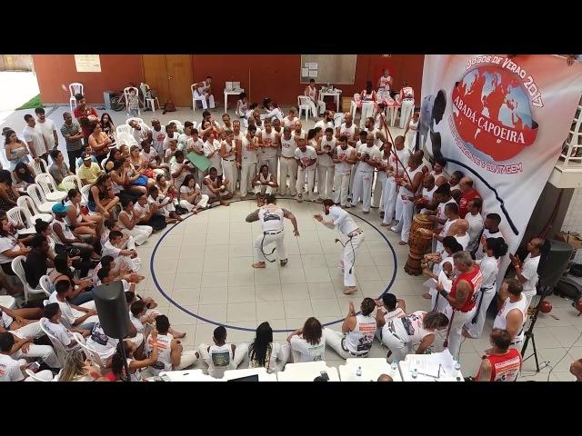 Finais dos Jogos de Verão Abadá Capoeira 2017. Professor Algodão x Instrutor Branco
