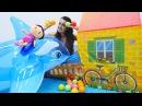 çizgifilmoyuncakları ile oyna Sevcan ve Şila OYUN PARKINA gidiyor kızçocukvideoları