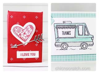Facebook Friday #6 Tasty Trucks and Valentine Box