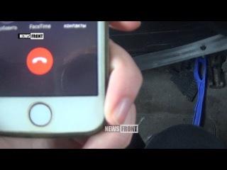 Очевидец о событиях на украинском блокпосту