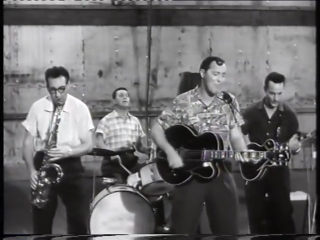 """Bill haley  his comets - """"hot dog buddy buddy"""" - from """"dont knock the rock"""" - hq 1956"""