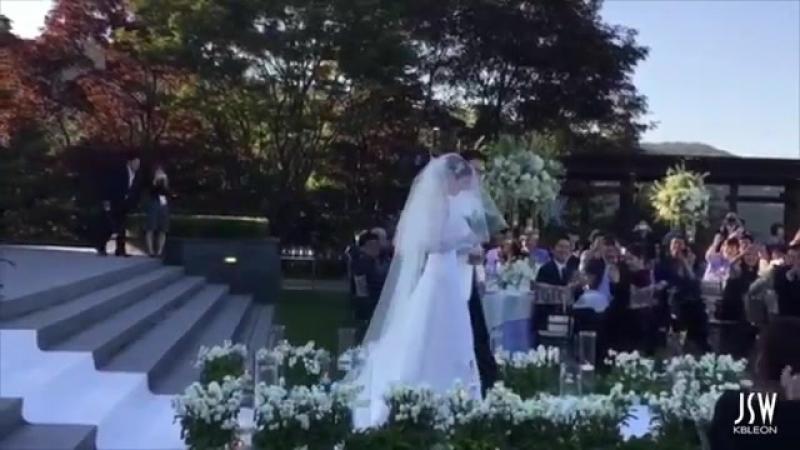 Joo Sang Wook and Cha Ye Ryun Wedding