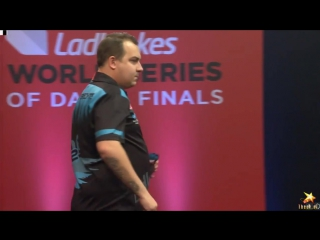 Dave Chisnall vs Kim Huybrechts (PDC World Series of Darts Finals 2016 / Round 2)