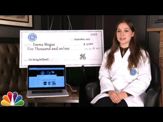 GE Fallonventions: Meet Inventors Patrick Joiner, Emma Mogus and Leah Thobe