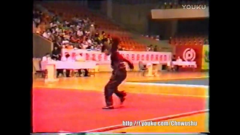 Чемпионат Китая по ушу 1999 года традиционные виды 1 женщины тунбей