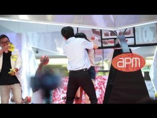 170716 kim samuel - dance with fan @hong kong apm shopping mall event