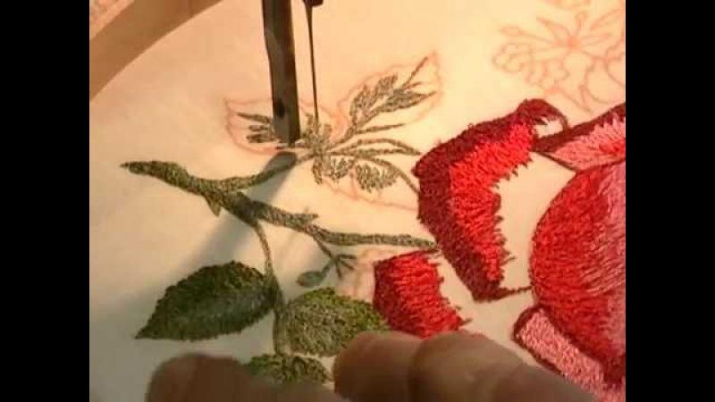 Treadle Embroidery Rose