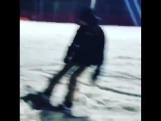Chanyeol; skii