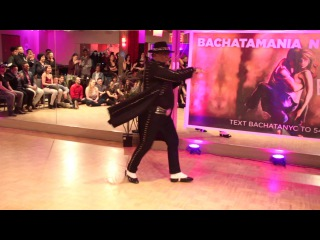 The MAMBO KING Eddie Torres at Bachatamania NYC Social