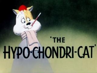 🎥 болезненный кот / the hypo-chondri-cat (1950)