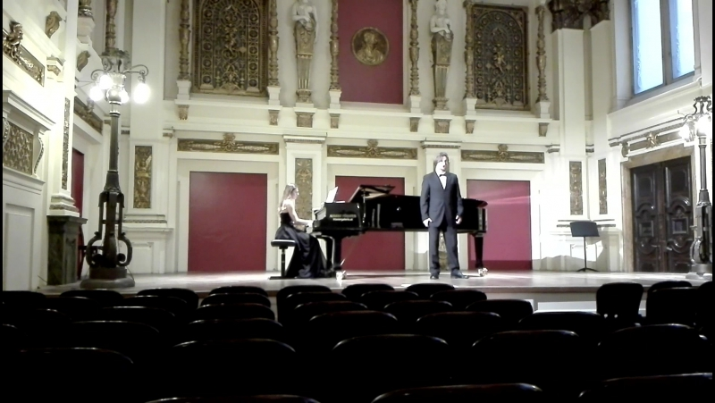 "Экзамен 01.11.18 G. Rossini Aria Haly aus Oper ""L'Italiana in Algeri"""