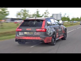 770HP Audi RS6 Avant C7 | Full Akra Exhaust | Crackle Map Tuning by DTMobility