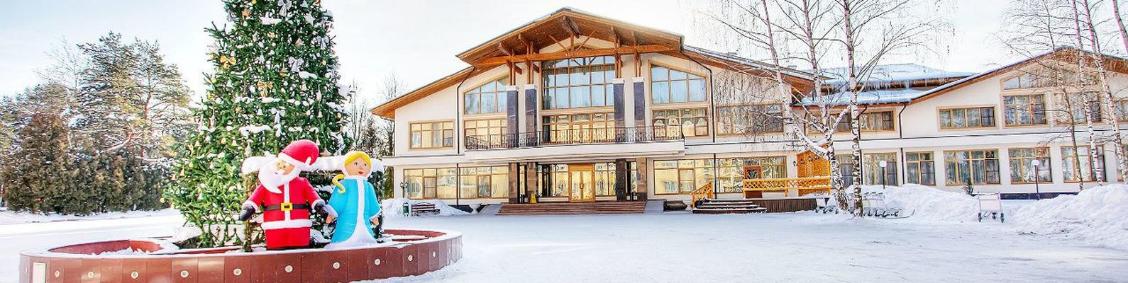 Яхонты ногинск парк отель фото зимой