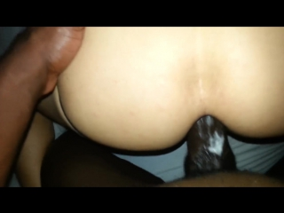 Bf bent over and getting a good fucking
