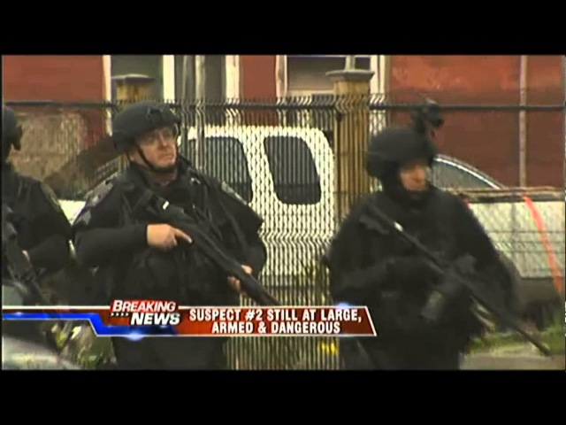 Systematic House to House Raids in Locked Down Watertown Massachusetts