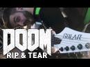 Doom OST Rip Tear Guitar Cover Andrew Baena Paul Ozz