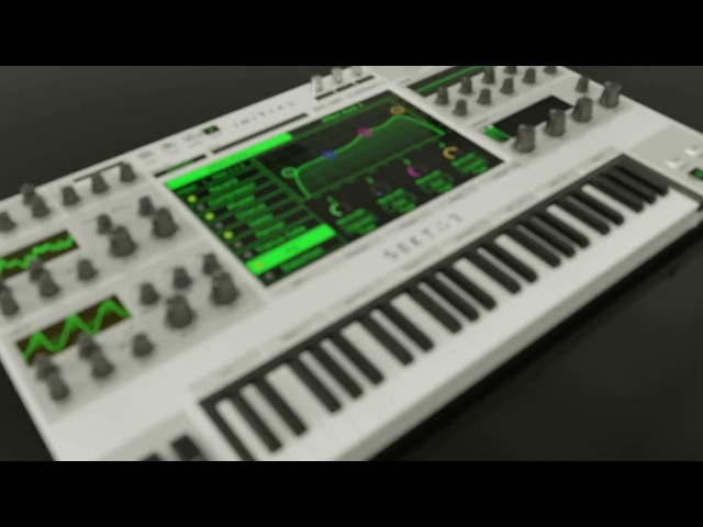 Sektor Hybrid Wavetable Synthesizer.
