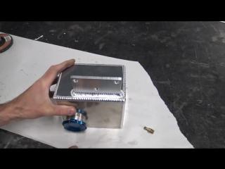 Небольшой топливный бак своими руками с помощью tig