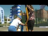 В Советском районе Красноярска появилась площадка для уличного фитнеса